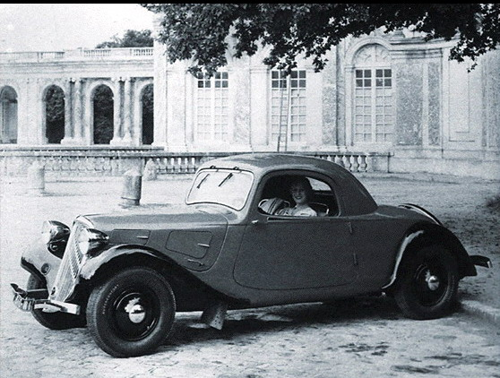 Citroen Traction Avant coupé