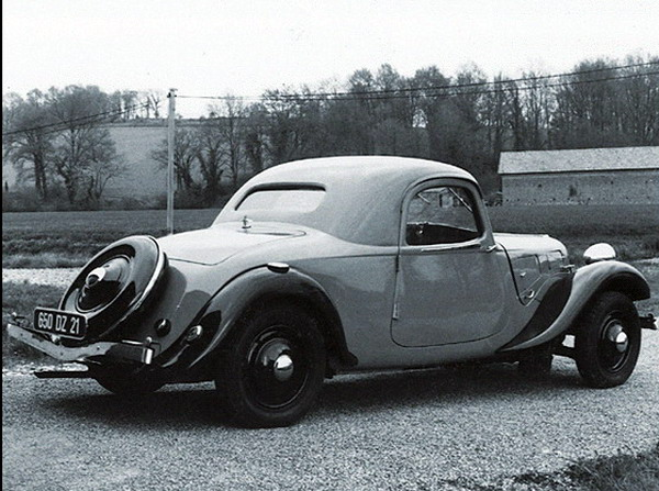 Citroen TA coupe